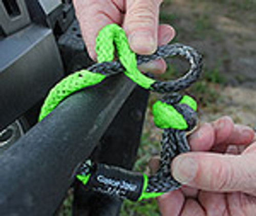 Mini Gator-Jaw Soft Shackle | 11,000 lbs | Sold in Pairs