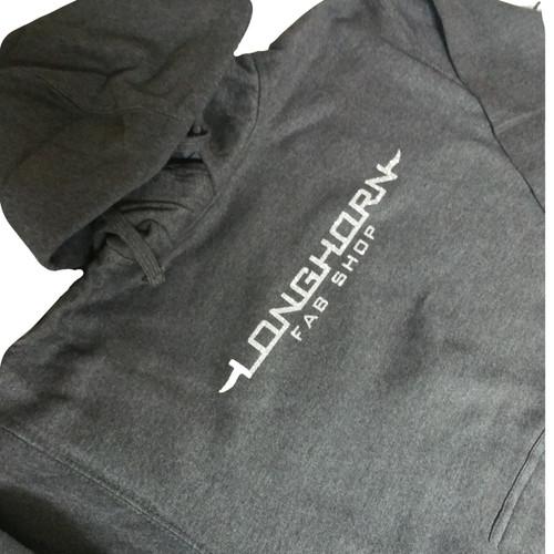 Longhorn Gear | Black Hoodie | Glitter Logo | 201007