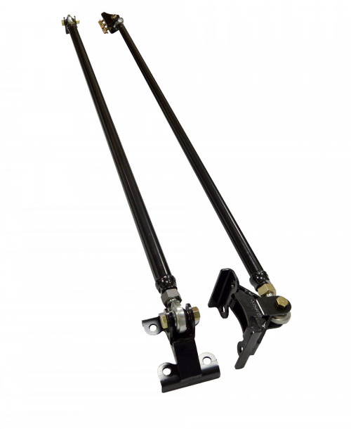 2011+ | Duramax | Bolt on Duramax Traction Bar Kit | Hot Street Rod Ends | Long Bed | 201037-86