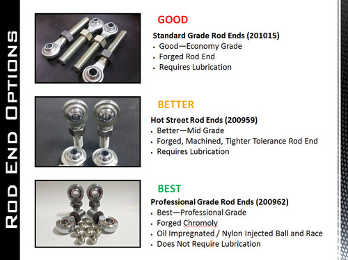 2011+ Duramax | 2017.5+ Ford | Bolt on Traction Bar Kit | Standard Grade Rod Ends |  Short Bed | 201036-72