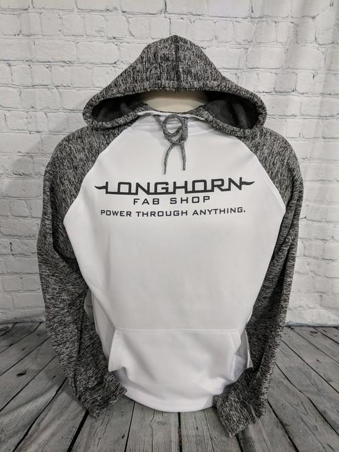 Longhorn Gear   Colorblock Hoodie   Black or White Logo   201024