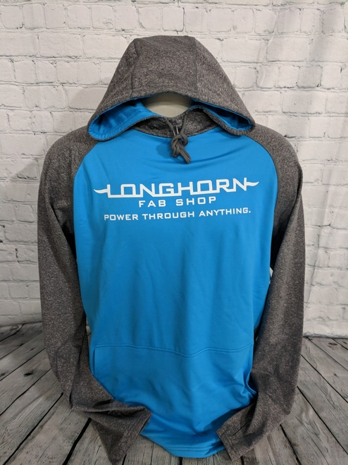 Longhorn Gear | Zeal Colorblock Hoodie | White Logo | 201025
