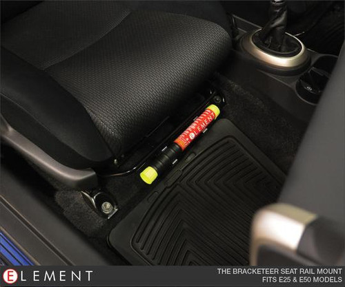 Element E50 Portable Fire Extinguisher Seat Rail Mount | 60300