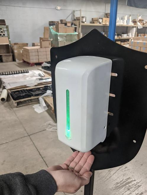 Hand Sanitizer Dispenser Stand | Touchless Dispenser | 1/2 Gal Sanitizer |  UNBOXED/BULK PACKED | 201089