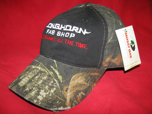Longhorn Fab Shop Mossy Oak Hat (200930)
