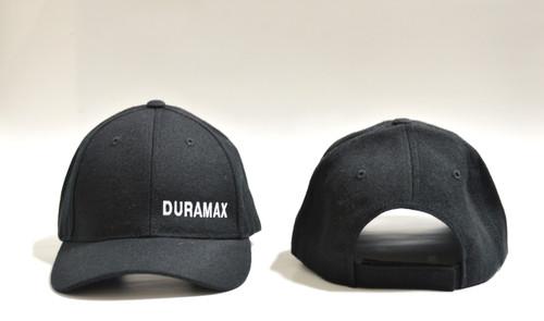 DuramaxGear - Duramax Baseball Cap - Black and White (BC13001-BLKW)