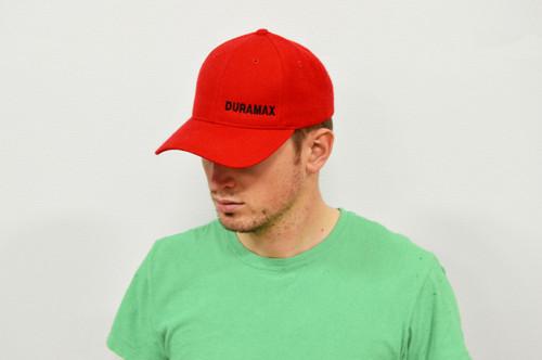 DuramaxGear - Duramax Baseball Cap - Red and Black (BC13001-RB)