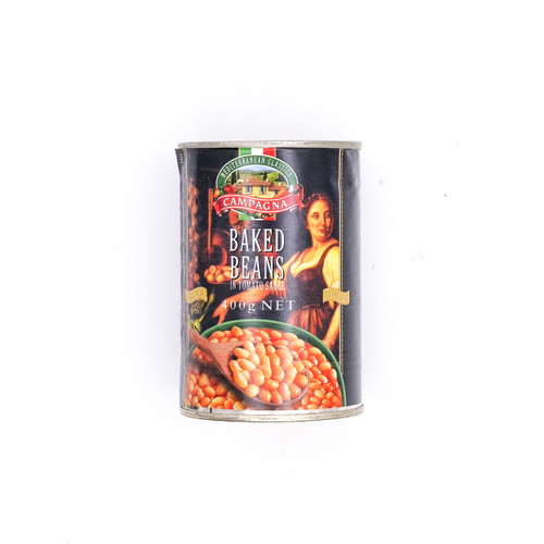 ITALY CAMPAGNA Tomato Sauce Baked Beans 意大利茄汁焗豆  ~2 pc x 400g /set