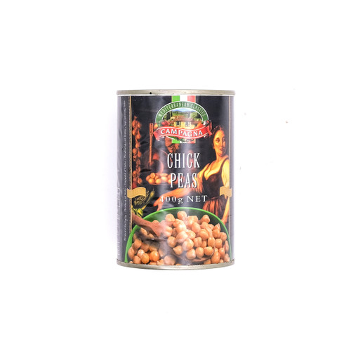 ITALY CAMPAGNA Chickpeas Beans 意大利鷹咀豆(雞心豆) ~2罐x 400克 /件