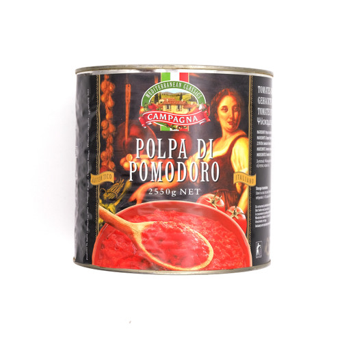 CAMPAGNA Chopped Tomato 意大利碎茄 ~2.55kg x  6tin  (祇限公司會員購買 / Sell to Corporate Member Only)