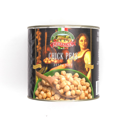 CAMPAGNA Chick Beans 意大利雞心豆 2.55kg x 6tin