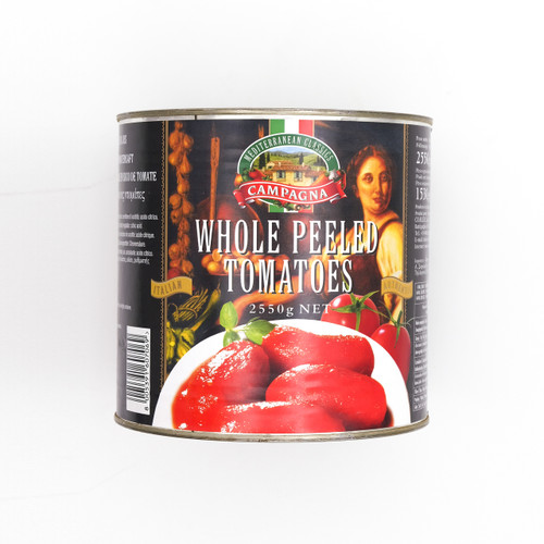 CAMPAGNA Whole Peeled Tomato 意大利去皮番茄 ~2.55kg x 6tin  (祇限公司會員購買 / Sell to Corporate Member Only)