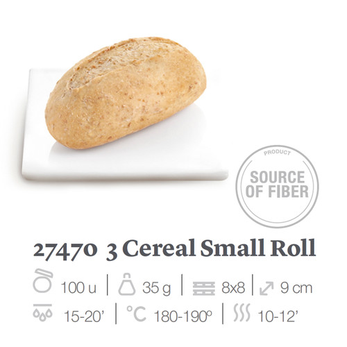 EUROPASTRY 5 Cereal Small Roll 五穀小麵包 ~35g x 100pcs/box