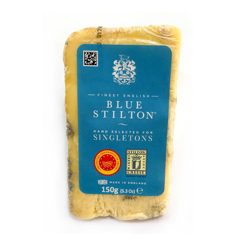 SINGLETONS Blue Stilton Wedges 史刁頓芝士份裝 ~150g /pc