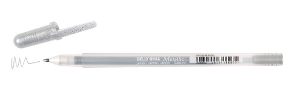 GELLY ROLL METALLIC SILVER