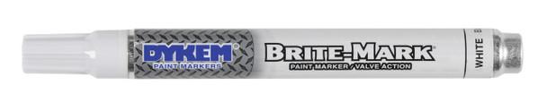 White Dykem paint marker
