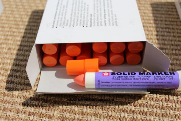 SOLID PAINT MARKER  ORANGE XSC-5