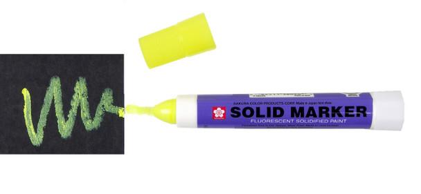 XSC-302 SAKURA SOLID PAINT MARKER FLUORESCENT LEMON
