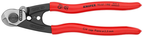 Knipix 9561190 wire rope cutters