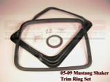 Mustang Shaker Trim Ring Set (2005-14)