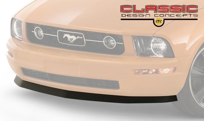 Mustang V6 Chin Spoiler w/meachnics tray combo (2005-09)