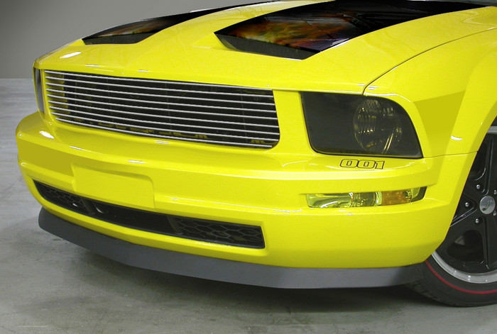 CDC# 0511-2001-01 - 05-09 Mustang V6 Brushed Upper Replacement Grille