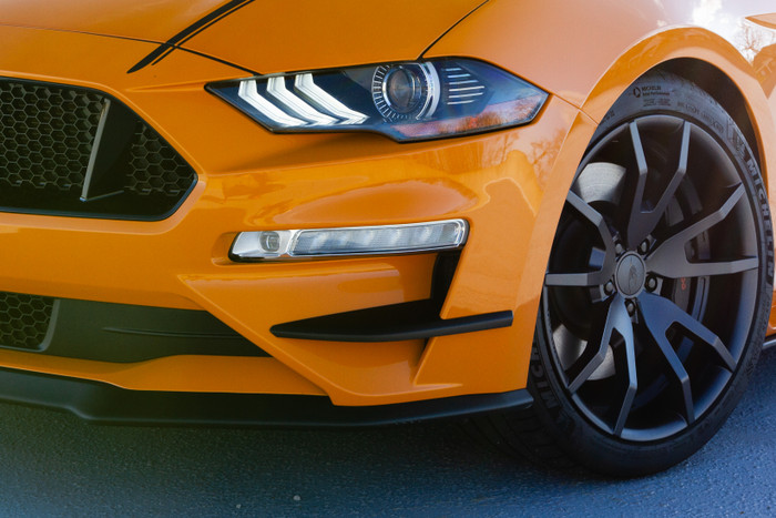 2018+ Mustang Outlaw Front Bumper Winglets