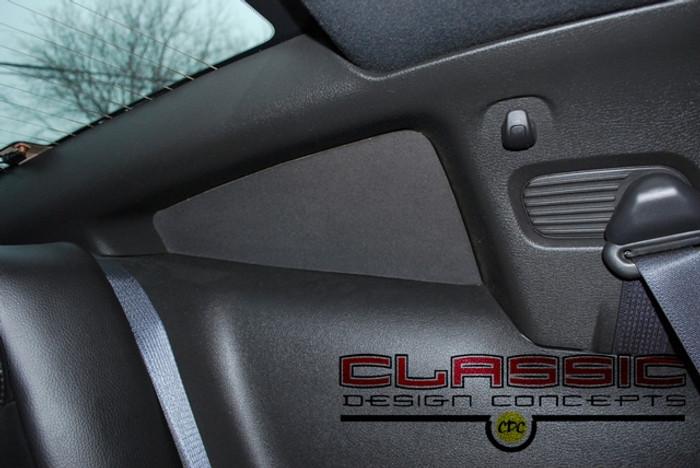 Mustang Quarter Window Blackouts (2005-14)