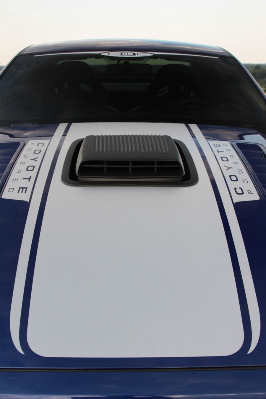 "Mustang ""Coyote Powered"" Hood Graphic (2013-14)"
