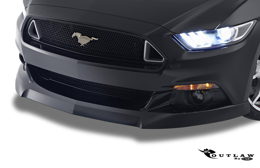 2015-17 Mustang Outlaw Front Chin Spoiler