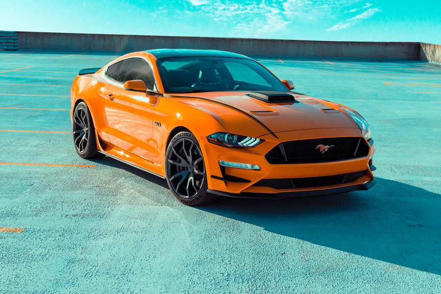 2018-2019 Mustang Outlaw Graphics, Coupe