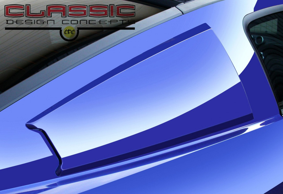 Mustang C-Pillar Scoops - Smooth (2005-14)