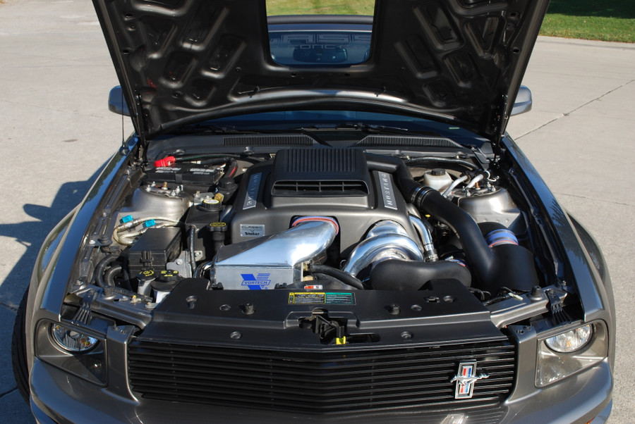 Mustang GT Billet Replacement Grille, Upper (2005-09)