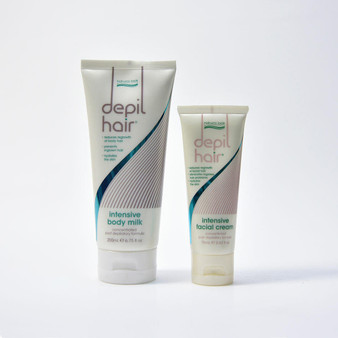 Depil Hair Body and Face Hair Reduction Bundle