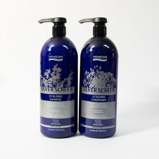 Silver Screen Ice Blonde Shampoo and Conditioner Bundle