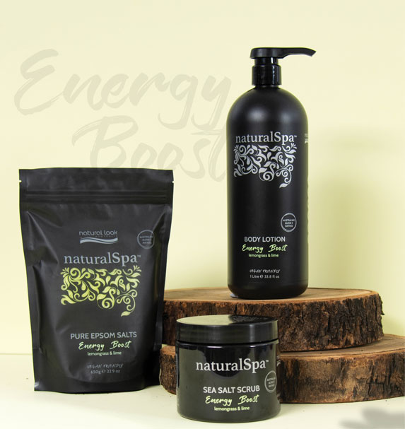 NaturalSpa Energy Boost Collection Image