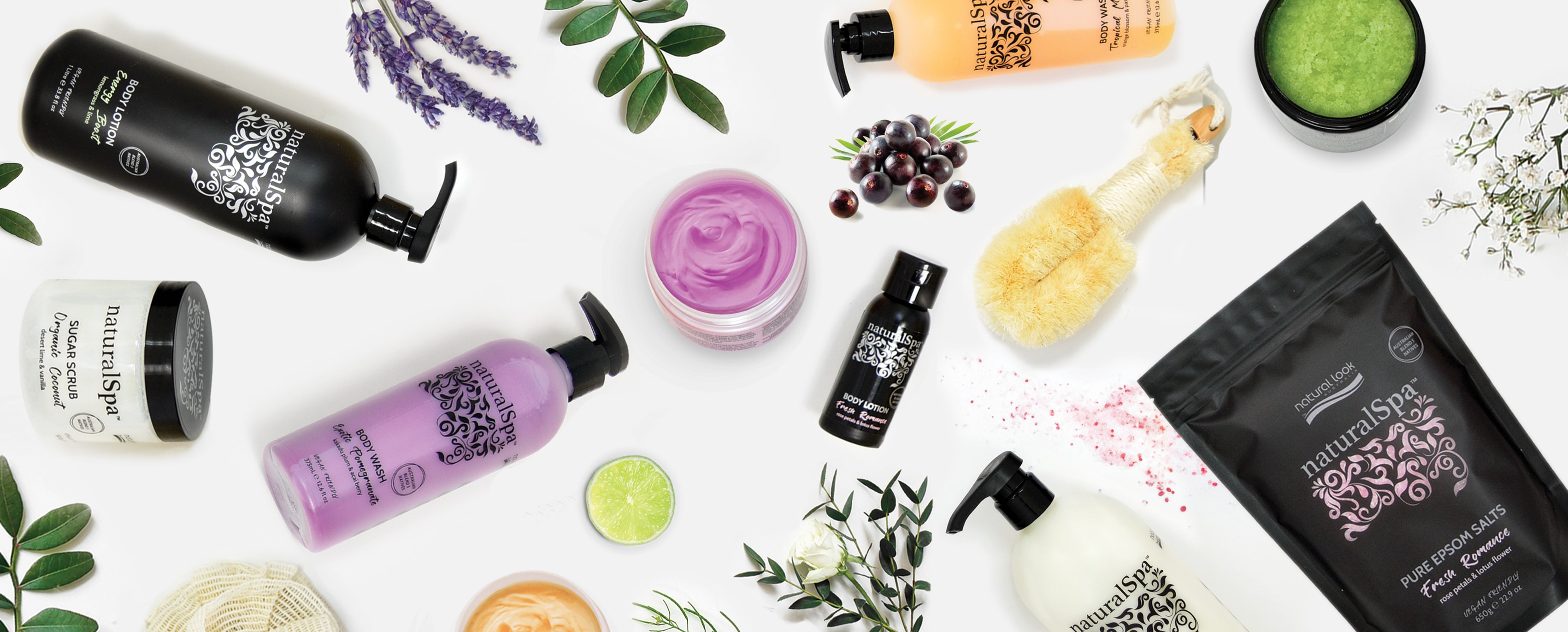 NaturalSpa Features Banner Image