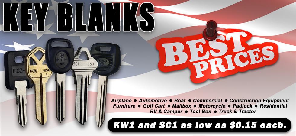 Wholesale Key Supplier | Automotive Key Blanks | eKey Blanks