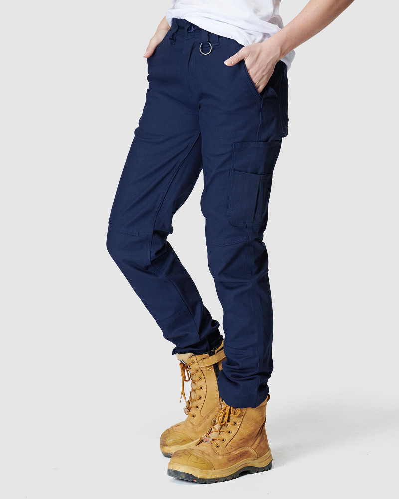 ELWD Womens Basic Pant Navy