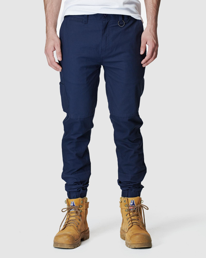 ELWD Mens Cuffed Pant Navy