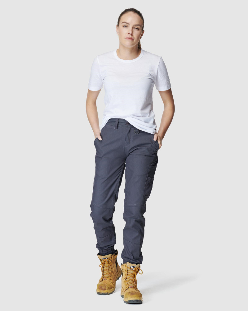 ELWD Womens WOMENS CUFFED PANT Grey 4