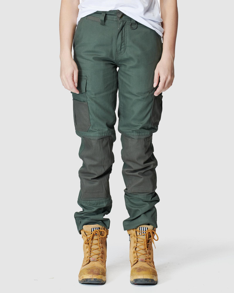 ELWD Womens  Green WOMENS UTILITY PANT0
