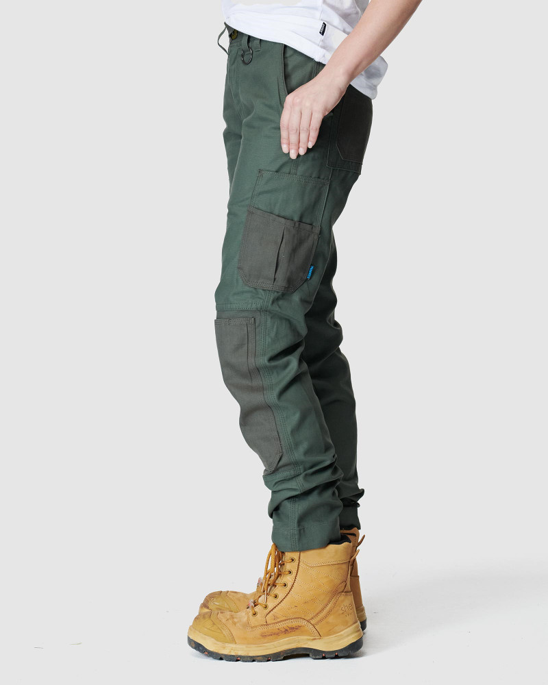 ELWD Womens  Green WOMENS UTILITY PANT1
