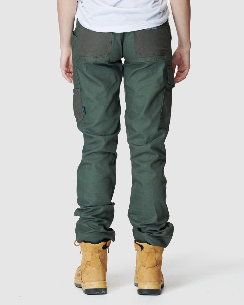 ELWD Womens  Green WOMENS UTILITY PANT2