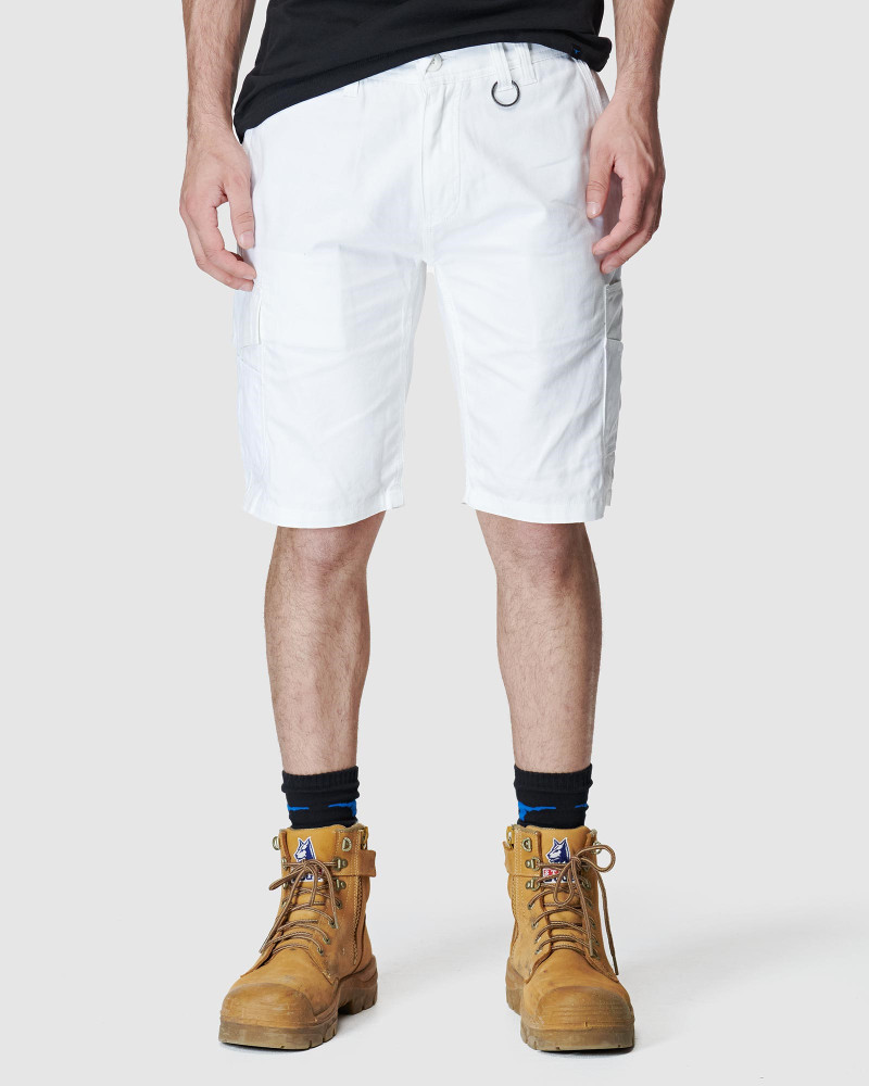 ELWD Mens Utility Short White