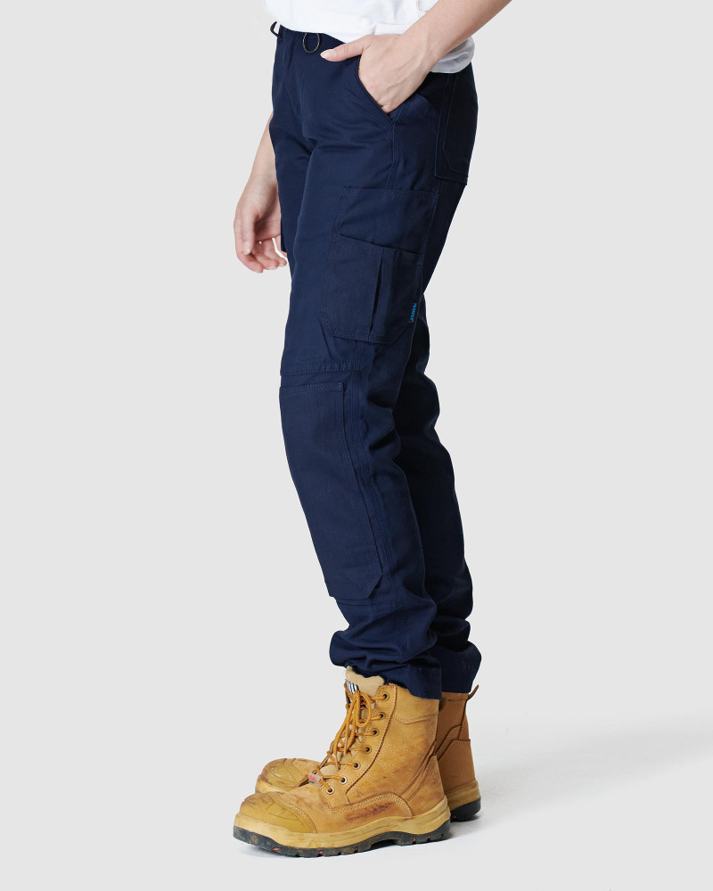 ELWD Womens Utility Pant Navy