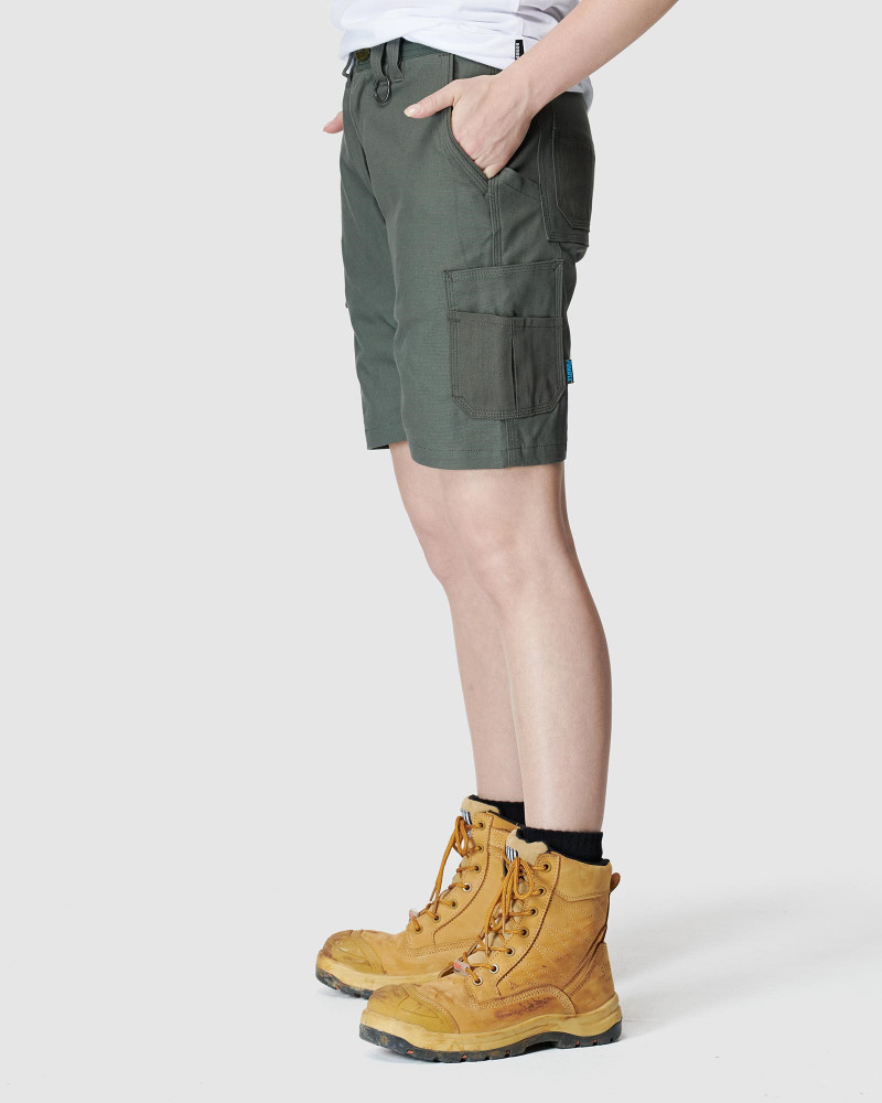 ELWD Womens Utility Short Army