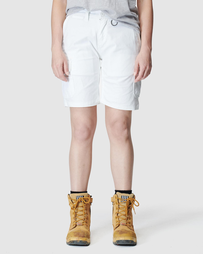 ELWD Womens Utility Short White