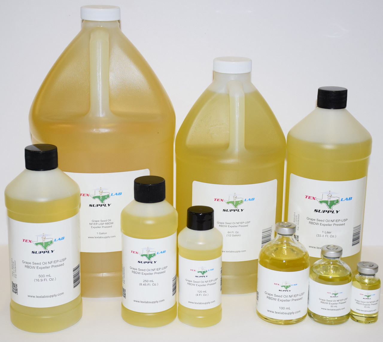 GRAPE SEED OIL NF/EP/USP/RBDW