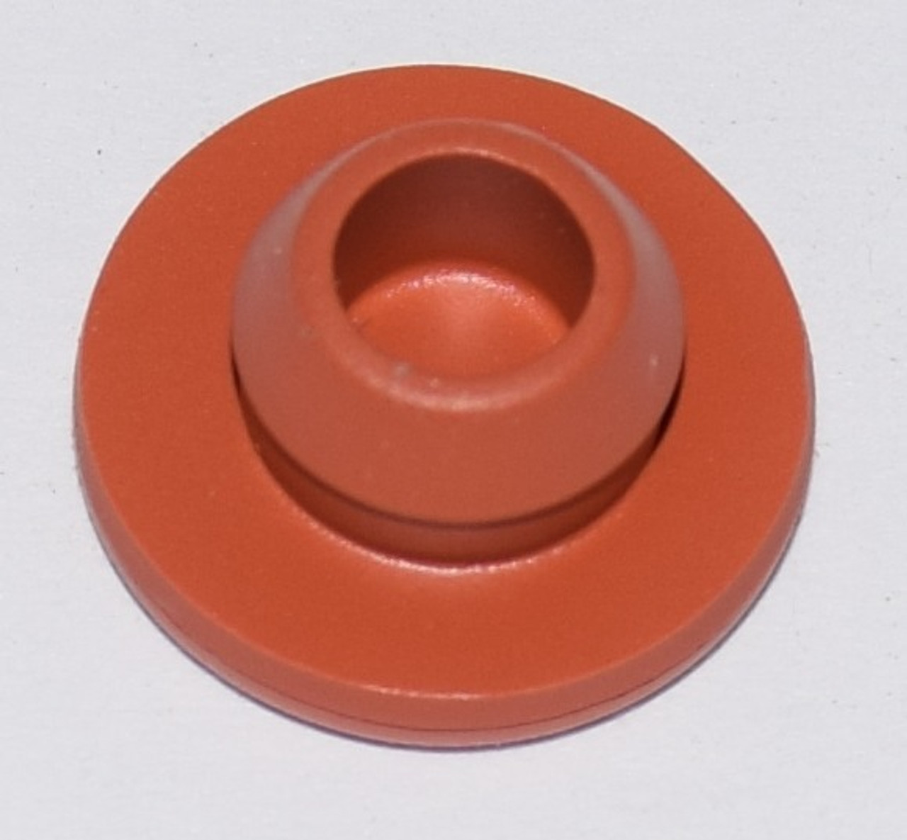 13MM RED ROUND VIAL STOPPERS